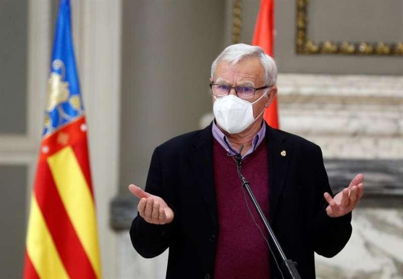 El alcalde de València, Joan Ribó, en una imagen reciente. EFE