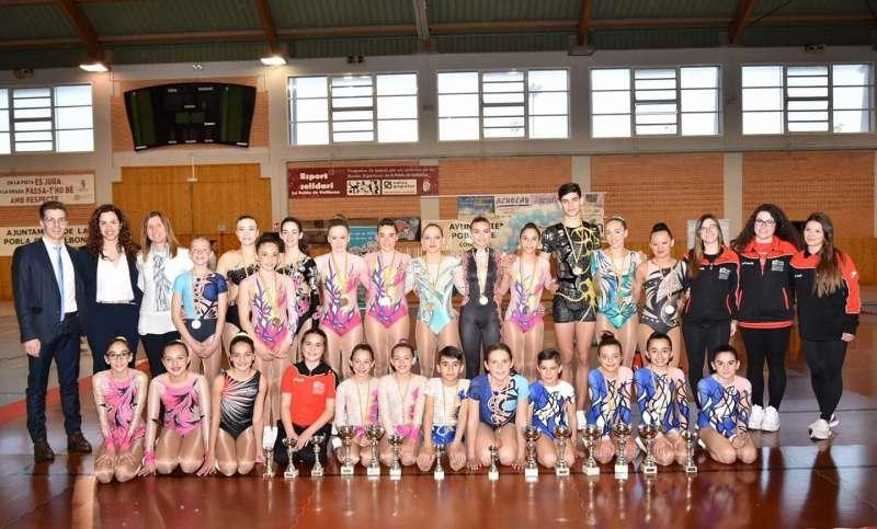 Participantes en el campeonato. EPDA