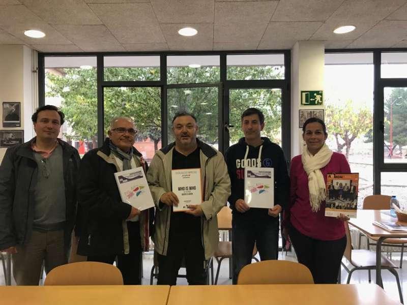 Participantes en la reunión. EPDA