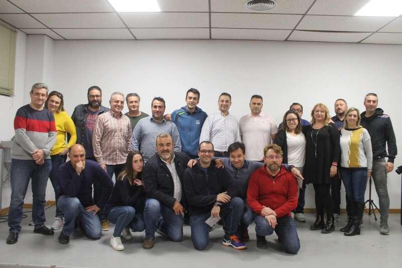 Miembros de la Junta Local Fallera de Albal