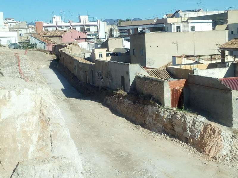 Obras de la calle Garcilaso. / EPDA