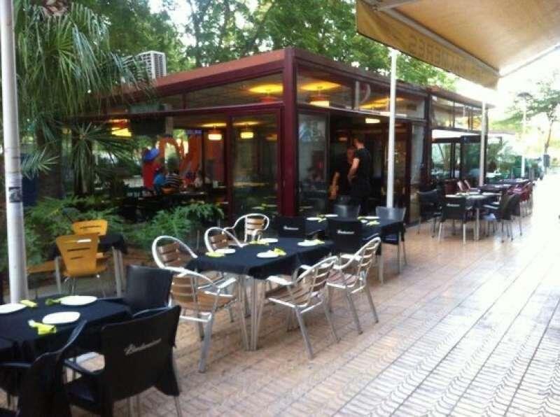 Terraza de un restaurante de L