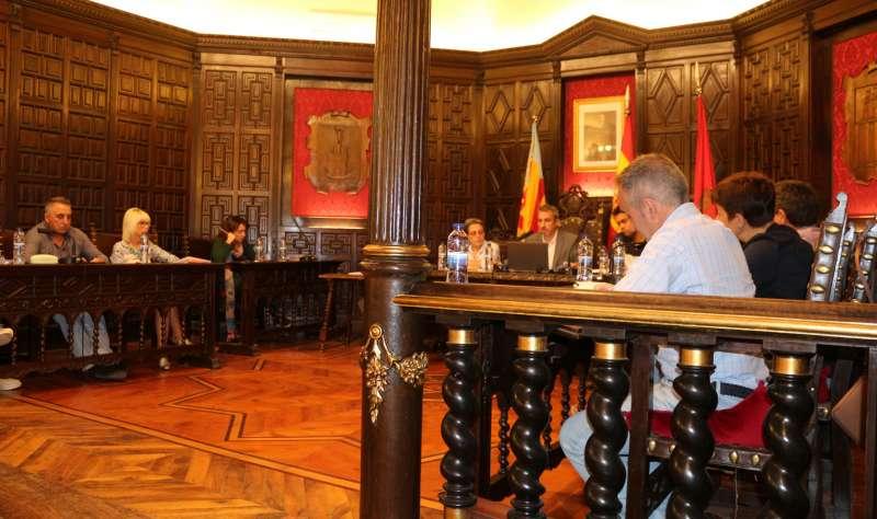 Última sesión plenaria del Ayuntamiento