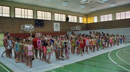 Un total de 230 niñas de 16 clubes participan de este primer encuentro. Foto: EPDA.