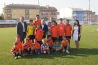 Imagen del Presidente de la Diputación de Valencia con un club deportivo. Foto: EPDA
