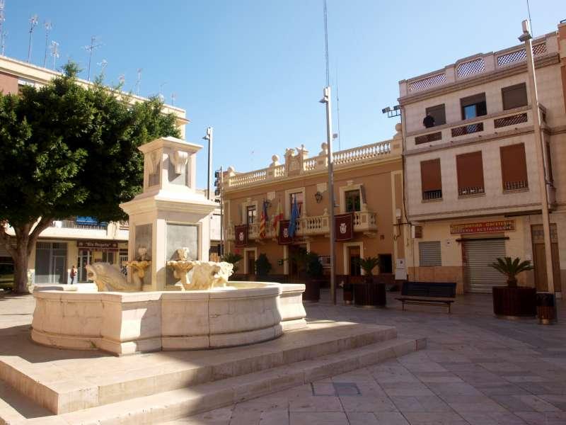 Plaça del Poble de Foios. EPDA