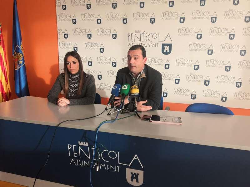 Rueda de prensa para presentar programa Fitur de Peñíscola.
