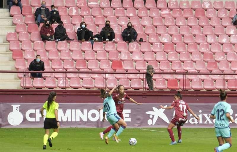 Lance de un partido del Levante Femenino. EFE/Archivo