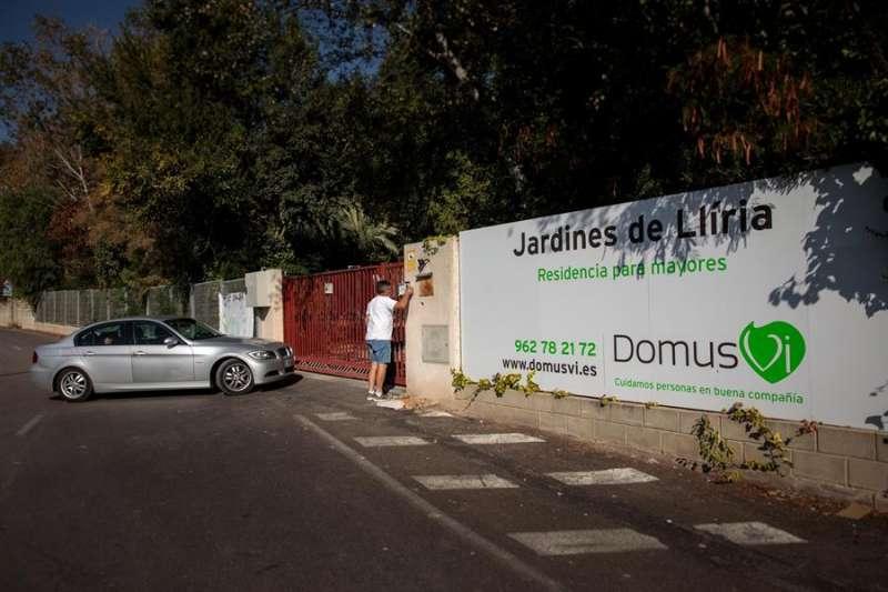 Fachada de la residencia Domus VI de Lliria
