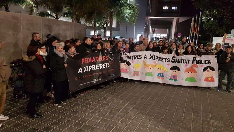 Imatge de la manifestació. -EPDA