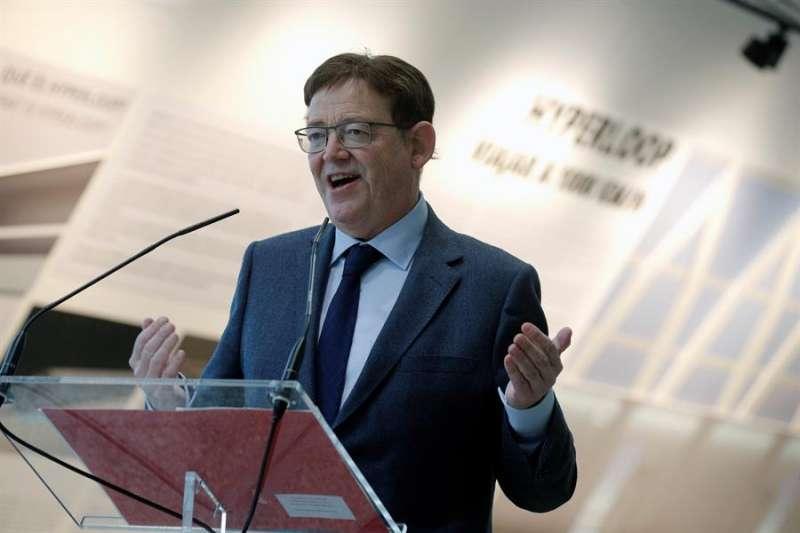 El president de la Generalitat, Ximo Puig. EFE/Manuel Bruque