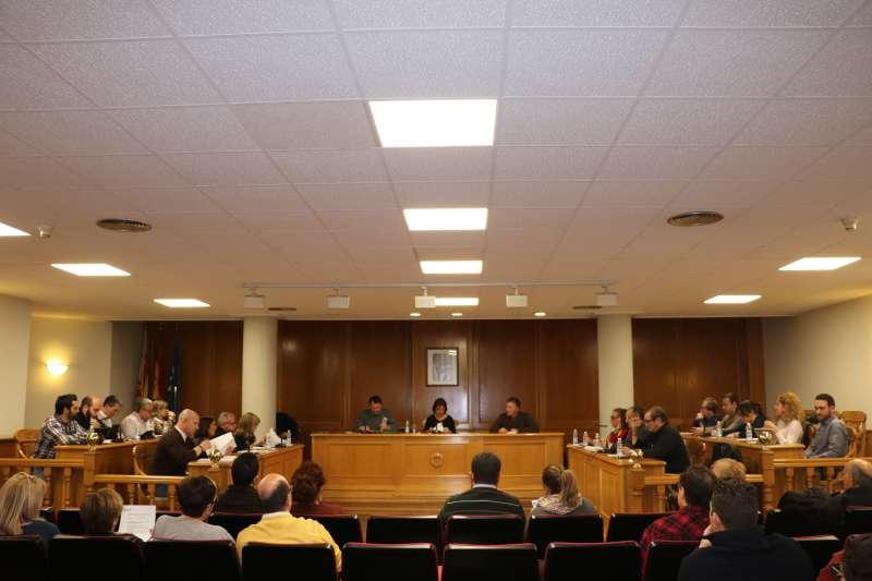 Sesión de ayer del pleno del Ayuntamiento de Quart de Poblet