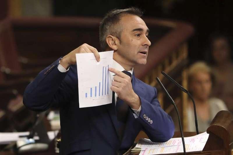 El portavoz de Agricultura del PP en les Corts, Miguel Barrachina. EFE/Archivo