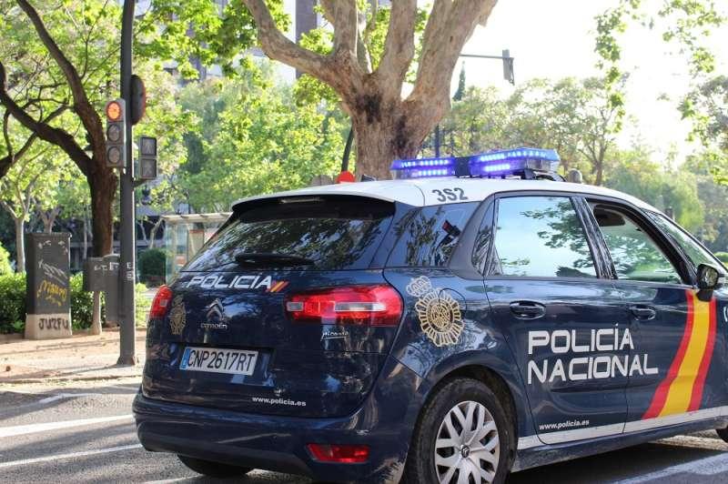 Un coche de la Policía Nacional. EPDA/Archivo