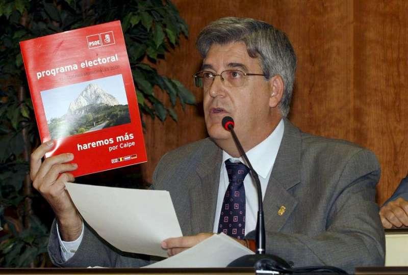 El ex-alcalde de Calpe, Luis Serna (PSPV-PSOE), en una imagen tomada en 2008. EFE