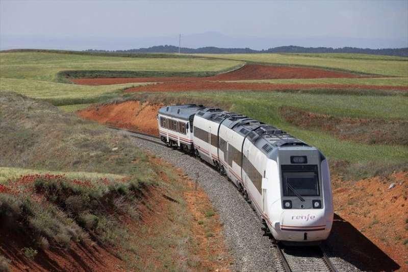 Tren Zaragoza-Teruel-Sagunt. EFE