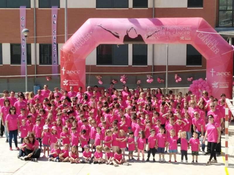 Marcha Solidària contra el Càncer./epda