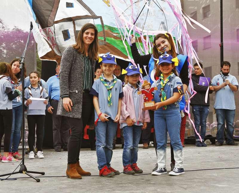 Ganadores del festival Scout. EPDA