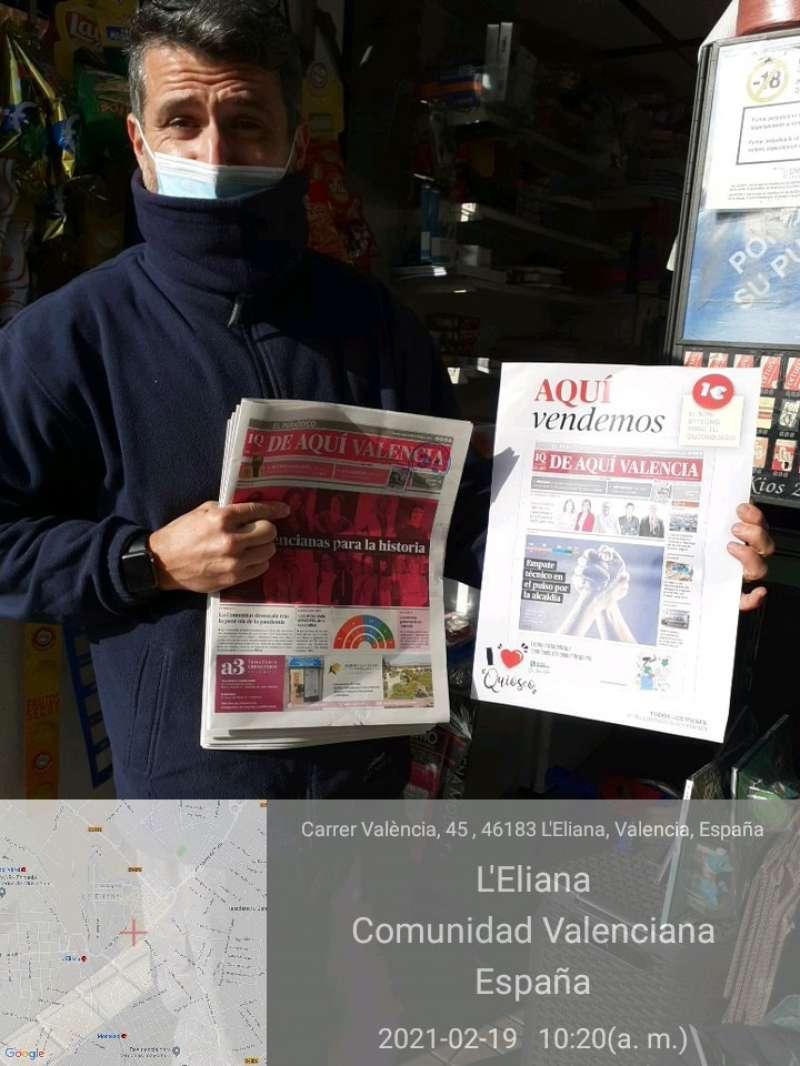 Quiosco del carrer de València de L