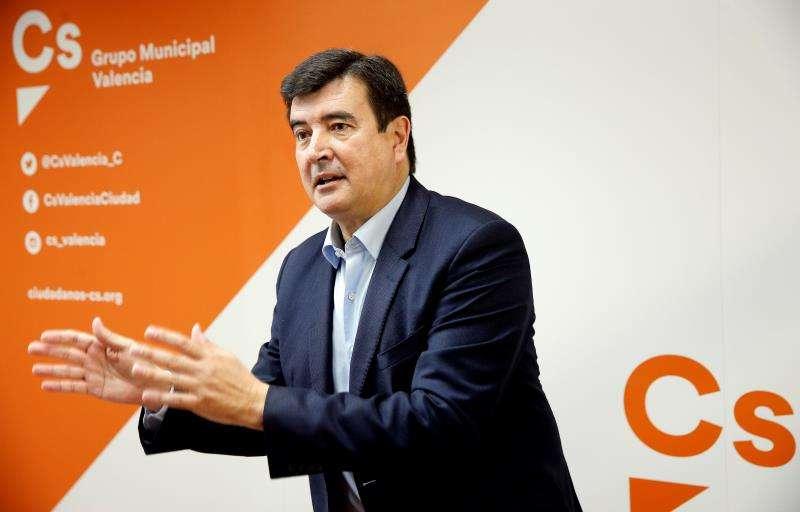 El portavoz de Ciudadanos (Cs) en València, Fernando Giner. EFE/Archivo