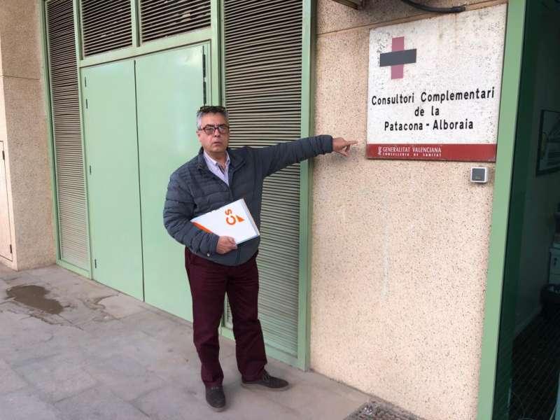 Vicente Martínez Bauset, candidato de Ciudadanos Alboraya. EPDA