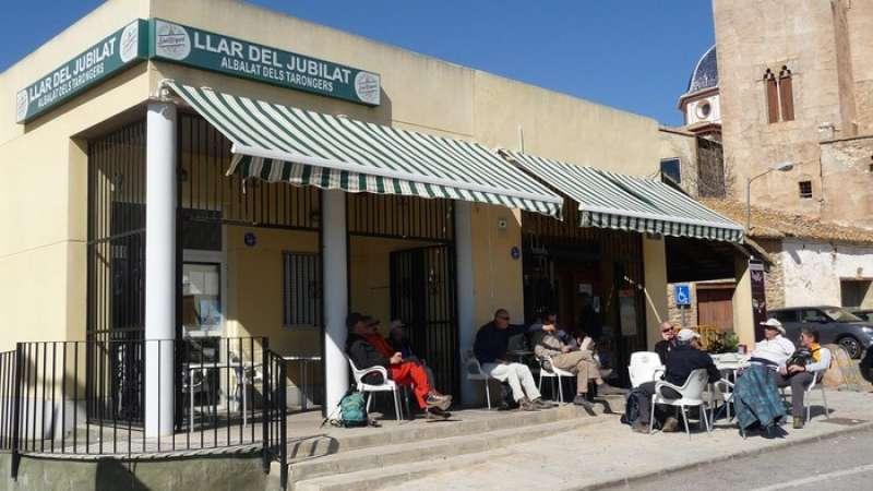 Bar del Hogar del Jubilado de Albalat dels Tarongers. EPDA