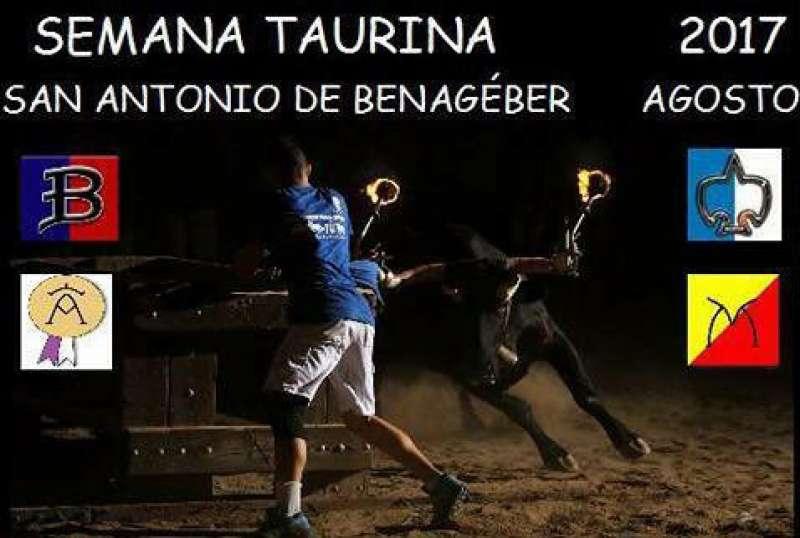 Cartel de la Semana Taurina. EPDA.