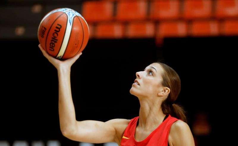 La jugadora del Valencia Basket Tamara Abalde. EFE/Archivo