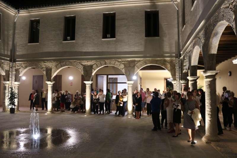 El claustro del convento acogerá la muestra fotográfica
