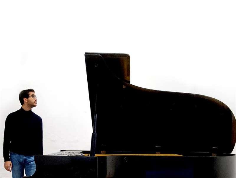 Foto cedida por el Palau de la Música del pianista Pérez Floristán