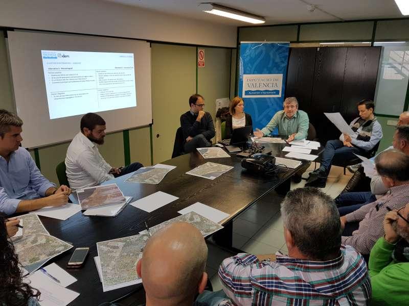 Presentación del proyecto Camins a la Mar. EPDA