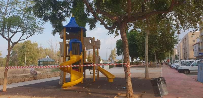 Parc infantil./Ajuntament Carlet