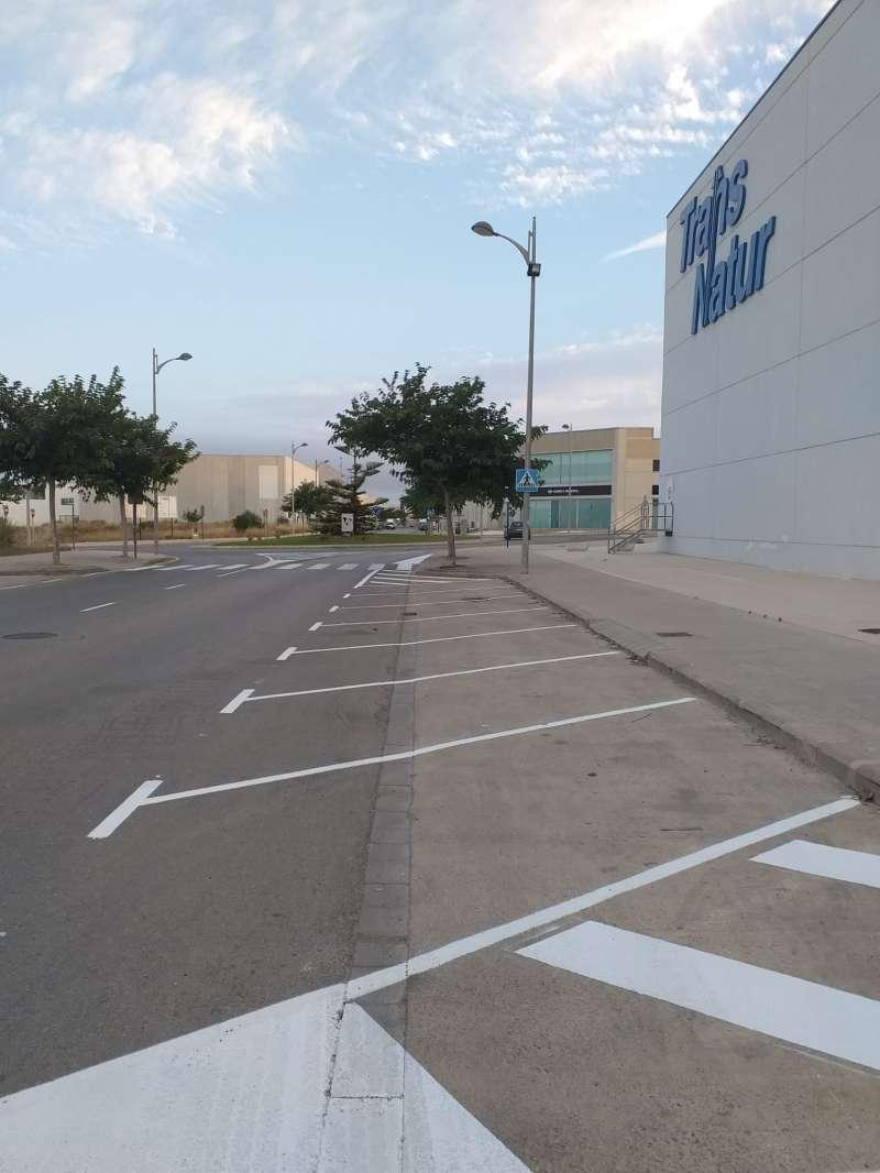 Nuevas plazas de aparcamiento