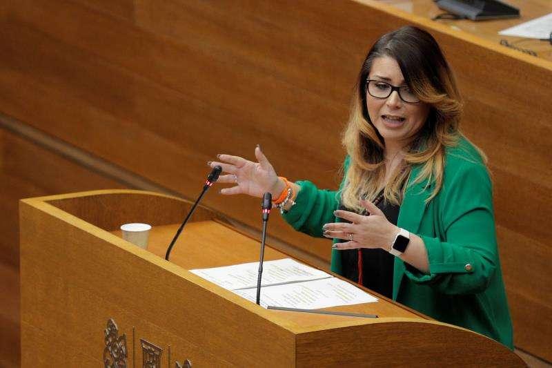 La portavoz de Ciudadanos en Les Corts, Mari Carmen Sánchez. EFE/Archivo