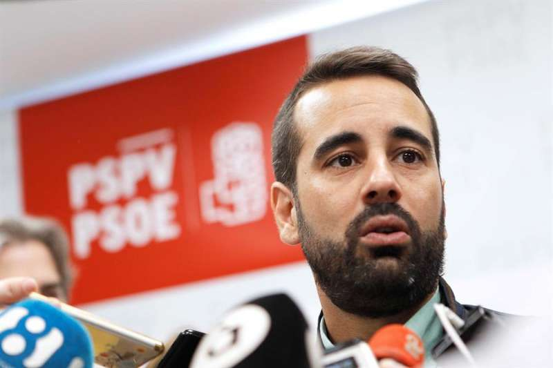 El secretario de Organización del PSPV-PSOE, José Muñoz, en una imagen de archivo.EFE/Ana Escobar