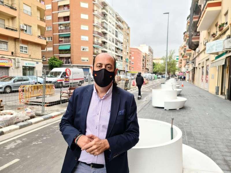 El concejal y portavoz de Vox València, Vicente Montañez. EPDA