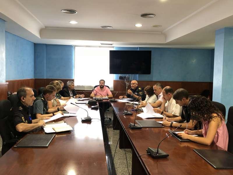 Reunió de la Junta de Seguretat. EPDA