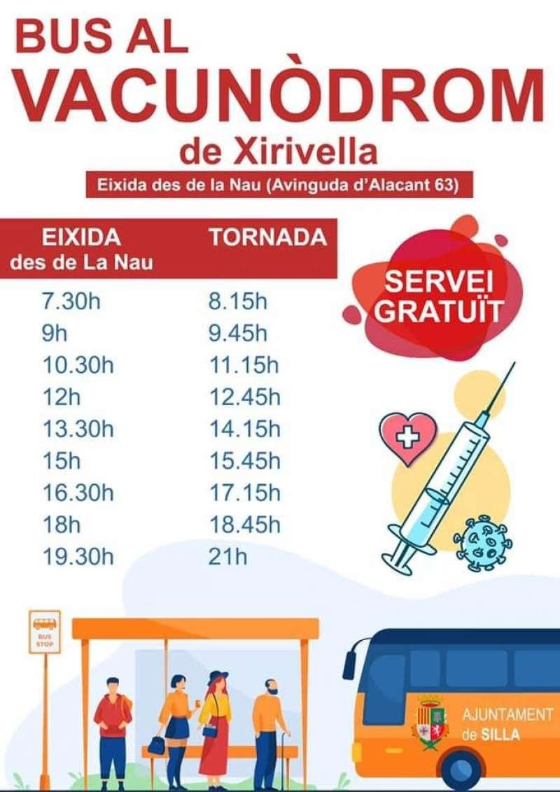 Servicio gratuito de Silla a Xirivella. EPDA