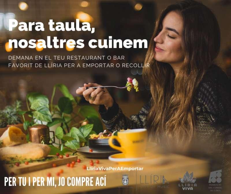 Campaña de apoyo a la hostelería. / EPDA