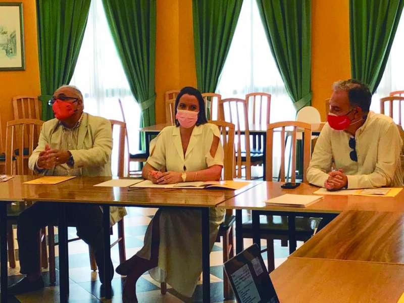 Reunión en Moncada