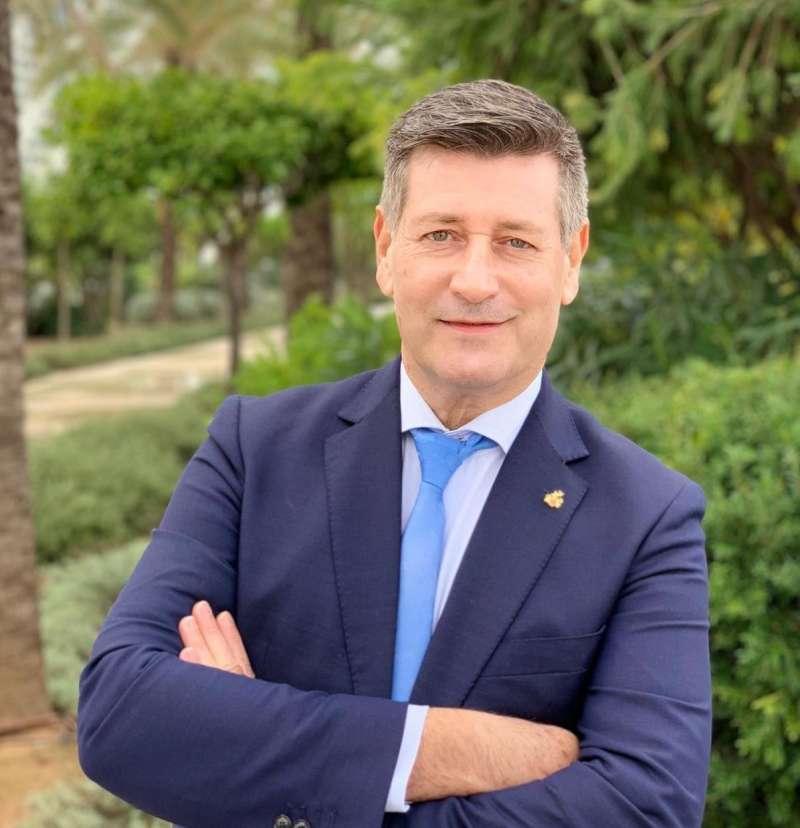 José Enrique Aguar, candidato a la alcaldía de Valencia por Contigo Somos Democracia