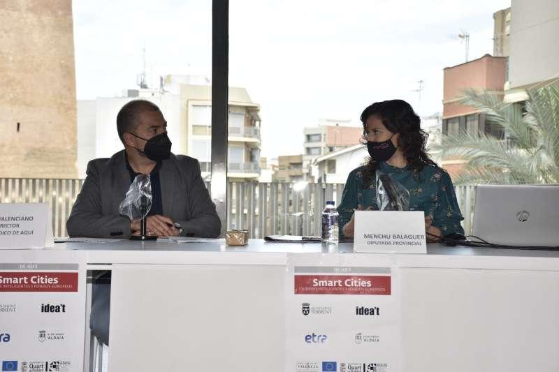 Pere Valenciano y Mentxu Balaguer. PLACIDO GONZÁLEZ