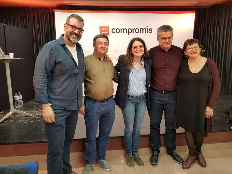 Miembros de Compromís per Xirivella