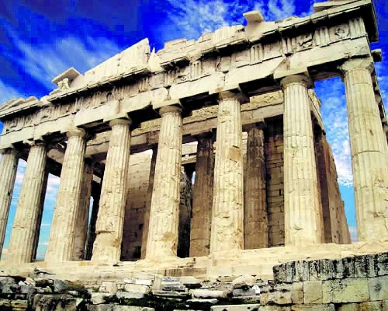 La Acrópolis, uno de los principales atractivos de Atenas. EPDA