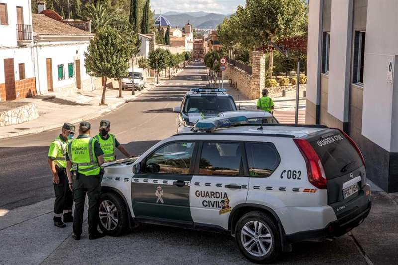 La Guardia Civil, en una intervención. EFE