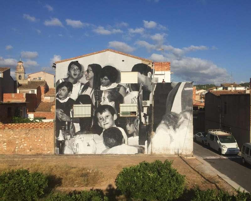 Arte urbano en Geldo