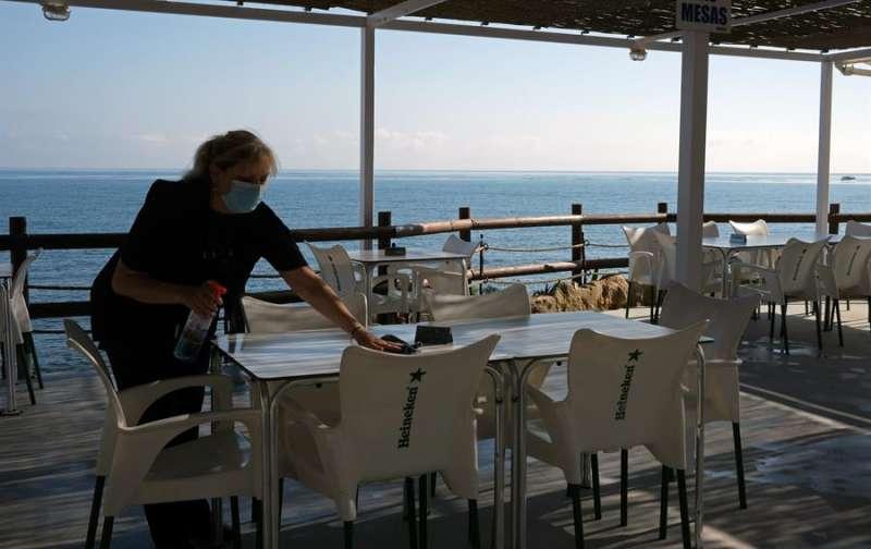 Un restaurante de València. EFE