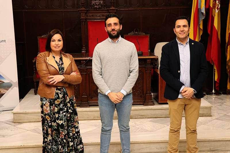 Cristina Plumed, Darío Moreno y Pere Antoni. EPDA