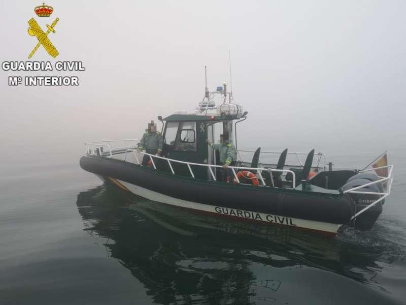 Embarcación de la Guardia Civil