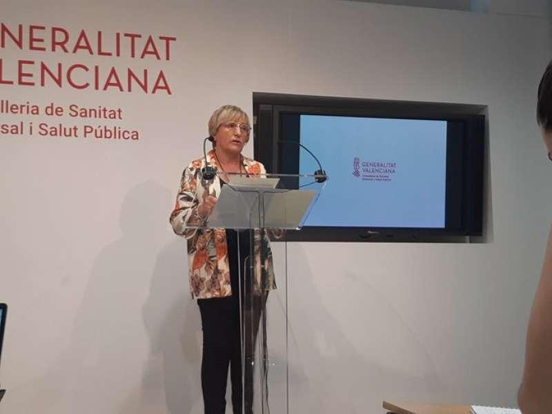 La consellera de Sanitat, Ana Barceló